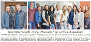 Filmemacher im Comenius web