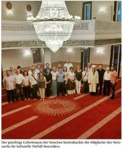 Netzwerk für kulturelle Vielfalt besuchte neue Selimiye-Moschee in Fischerdorf
